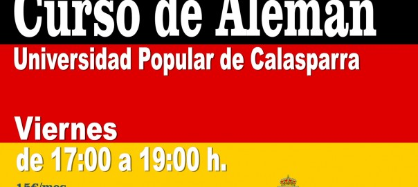Cartel UP Aleman 207.18