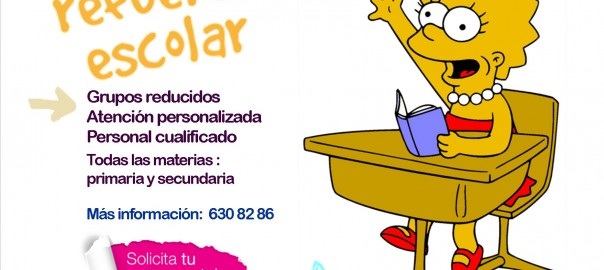 cartel clases particulares 2